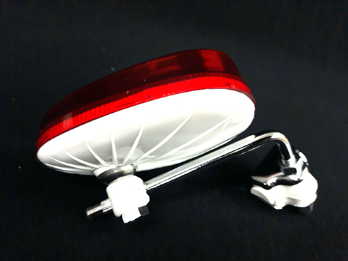 Retrovisor bordon blanco/rojo BUMM izdo