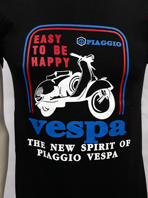 Camiseta Vespa Easy to be happy