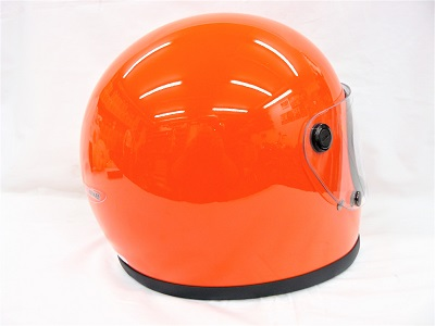 "Casco integral Red Bike ""Bell\"" style naranja"