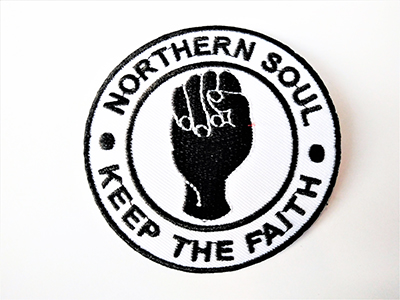 "Parche ""Northern Soul Keep the faith"""