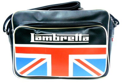 Bolso Lambretta UK negro largo