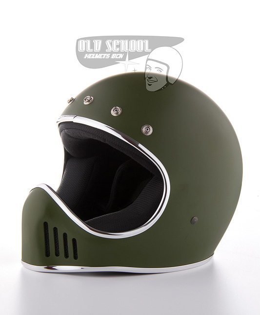 Casco integral Star MC verde