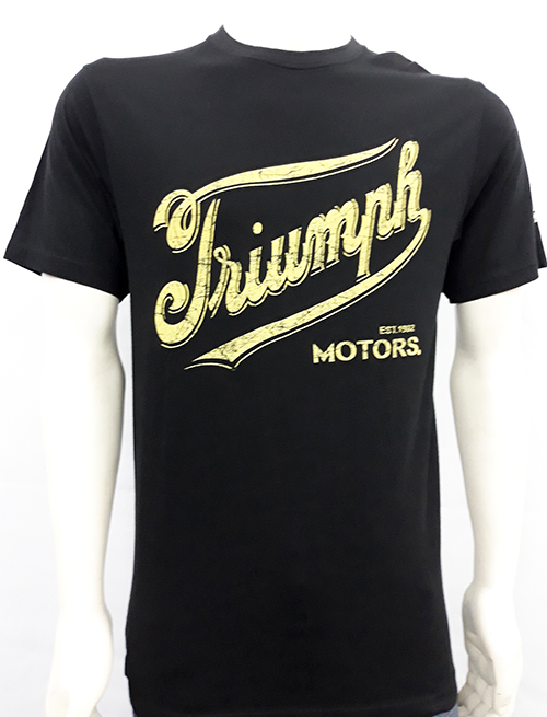"Camiseta Oil Leak ""Triumph Motors\"""