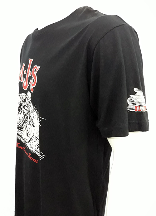 "Camiseta Oil Leak ""AJS rider\"""