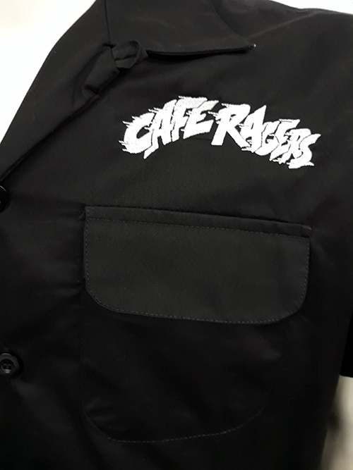 "Camisa bowling ""Cafe racers\"""
