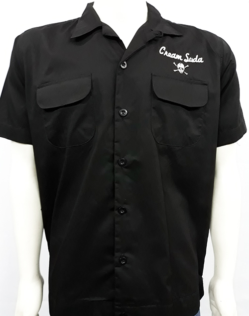 "Camisa bowling ""Cream Soda\"""