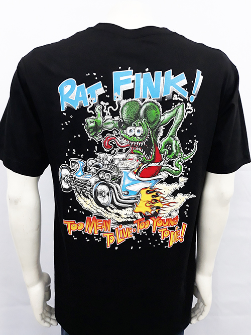 "Camiseta Rat Fink ""To mean to live"""