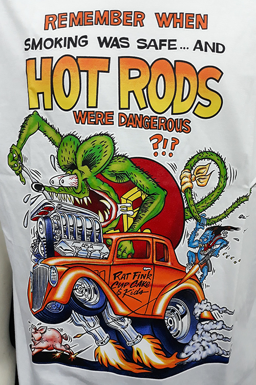 "Camiseta Rat Fink ""Remember....\"""