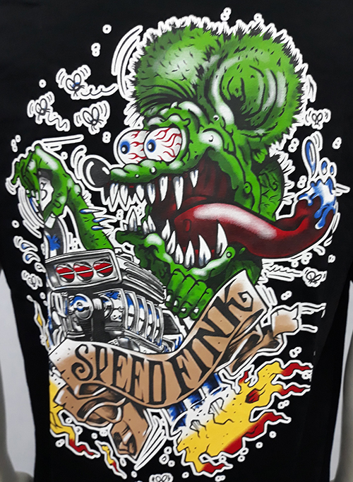 "Camiseta Rat Fink ""Speedfink\"""