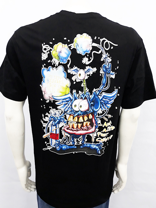 "Camiseta Rat Fink ""Slam it\"""