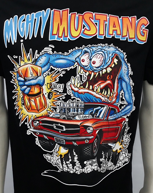 "Camiseta Rat Fink ""Mighty mustang\"""