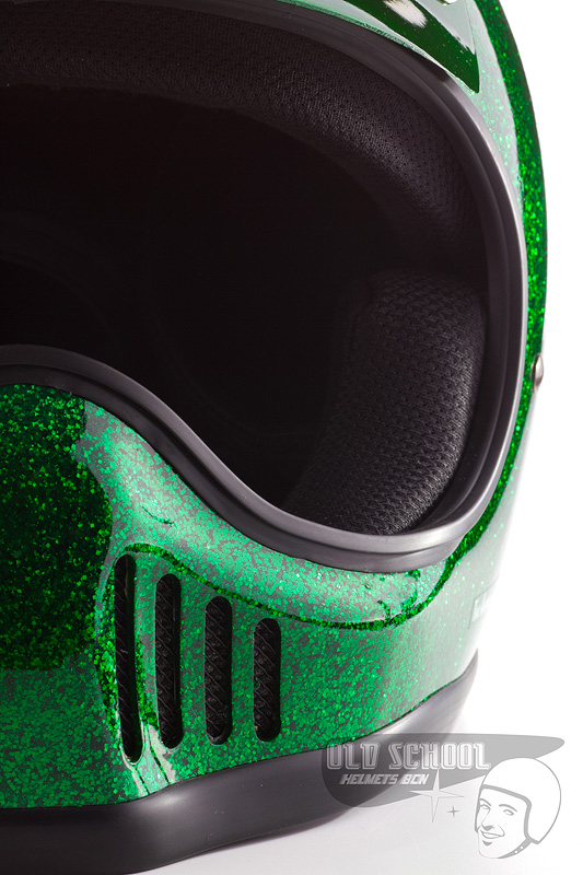 Casco integral Star MC flake green