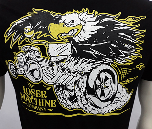 "Camiseta Loser Machine ""Hot rod\"""