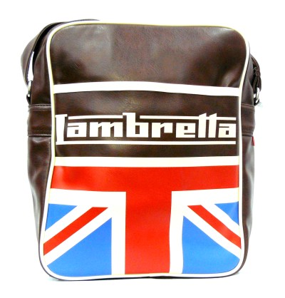 Bolso Lambretta UK marron