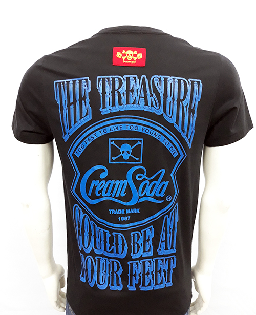 Camiseta Cream Soda Too fast to live