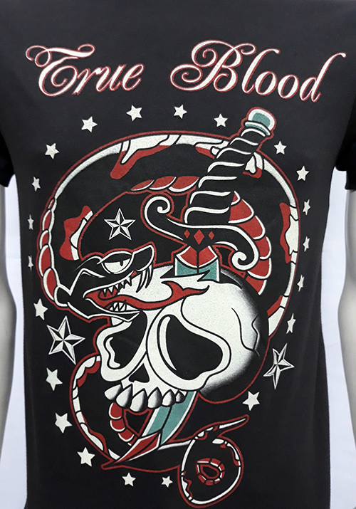"Camiseta True Blood ""Snake and skull\"""
