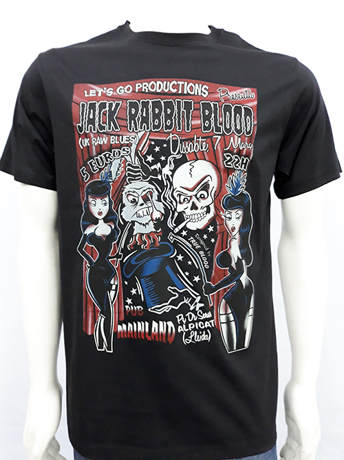 "Camiseta True Blood ""Jack Rabbit\"""