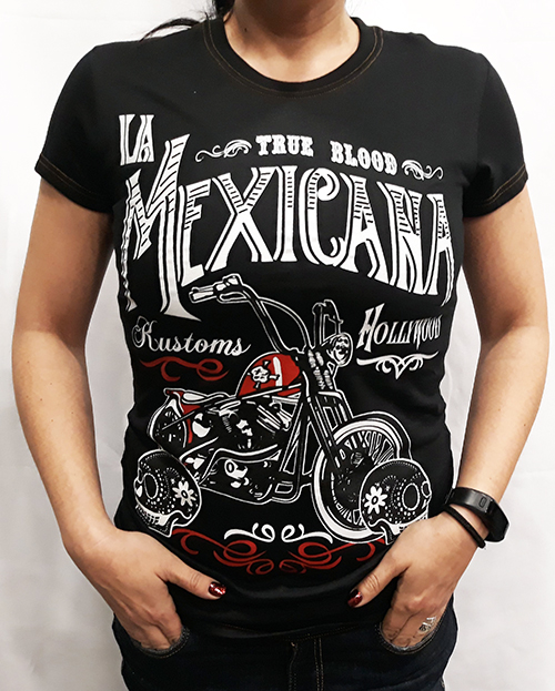 "Camiseta chica True Blood ""La mexicana\"""