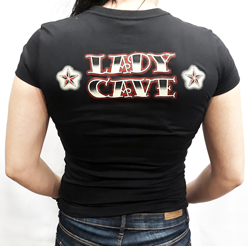 "Camiseta chica True Blood ""Lady cave\"""