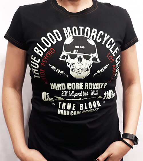 "Camiseta chica True Blood ""True blood MC\"""