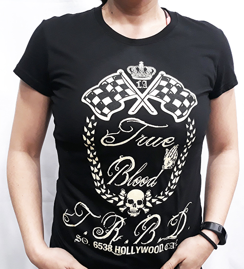 "Camiseta chica True Blood ""True blood Hollywood"""