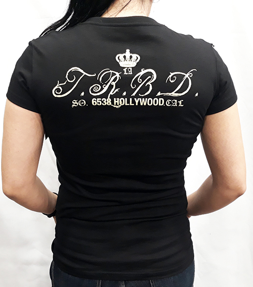"Camiseta chica True Blood ""True blood Hollywood\"""