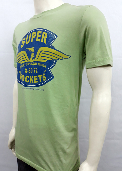"Camiseta Superlove ""Rockets\"" verde"