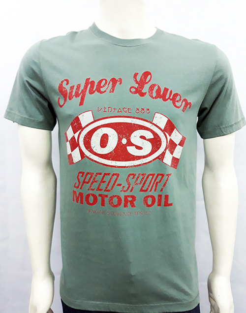 "Camiseta Superlove ""Speed Sport"" verde"