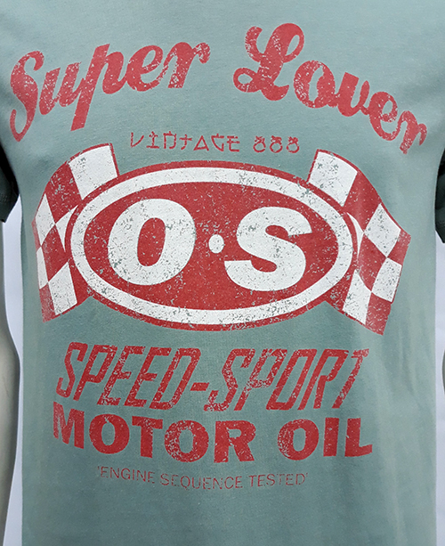 "Camiseta Superlove ""Speed Sport\"" verde"