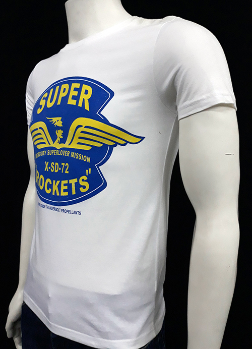 "Camiseta Superlove ""Rockets\"" blanca"