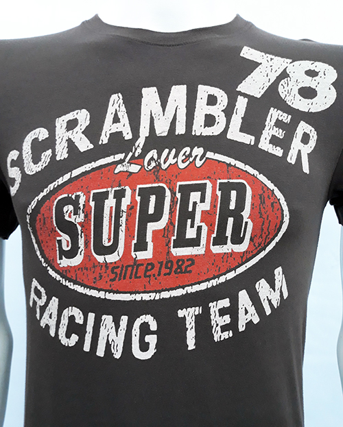 "Camiseta Superlove ""Scramble 78\"" marron"