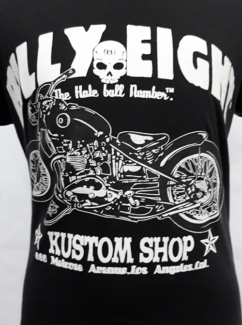 "Camiseta niño Billy Eight ""Kustom shop\"""