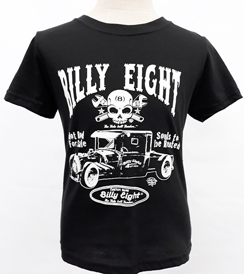 "Camiseta niño Billy Eight ""Hot rod for sale\"""