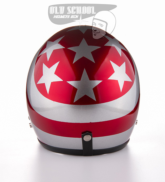 "Casco jet Elders ""Stripes & Stars\"""