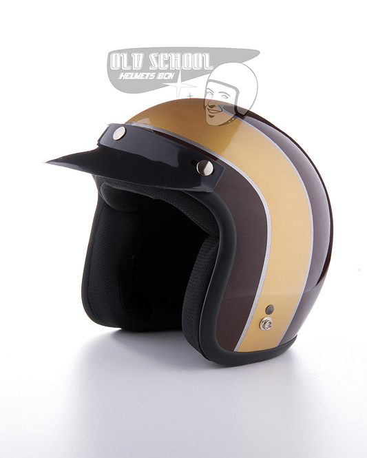 "Casco jet Elders ""Brown and gold"""