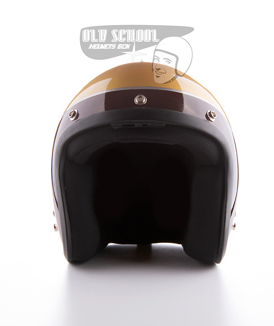 "Casco jet Elders ""Brown and gold\"""