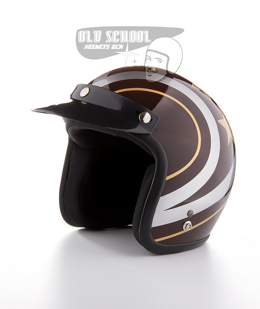 "Casco jet Elders ""Stars brown"""