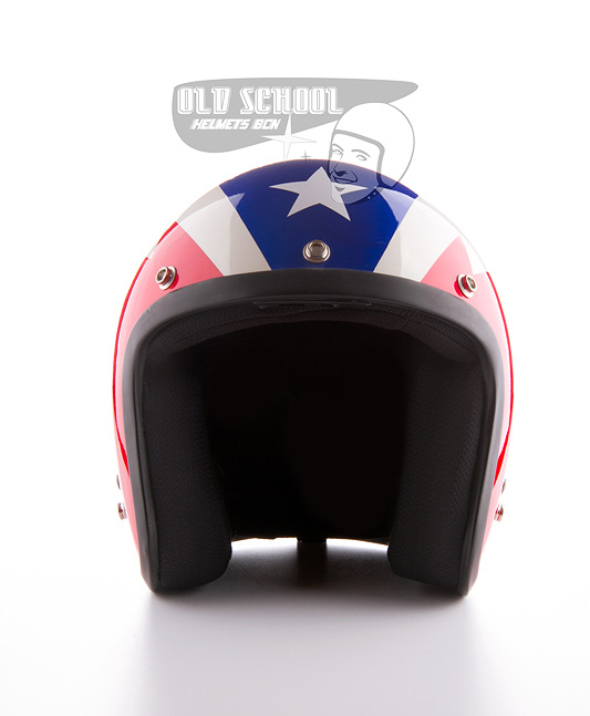 "Casco jet Elders ""Red, white and blue\"""