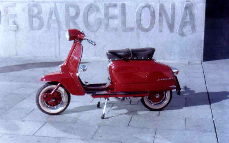 LAMBRETTA LI 150 SCOOTERLINEA (1967)